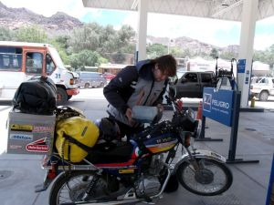 Southamerica on a motorbike - Chile, Argentina, Bolivia and Peru